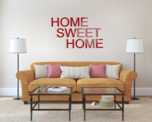 Home Sweet Home Napisy Dekoracyjne Na ścianę