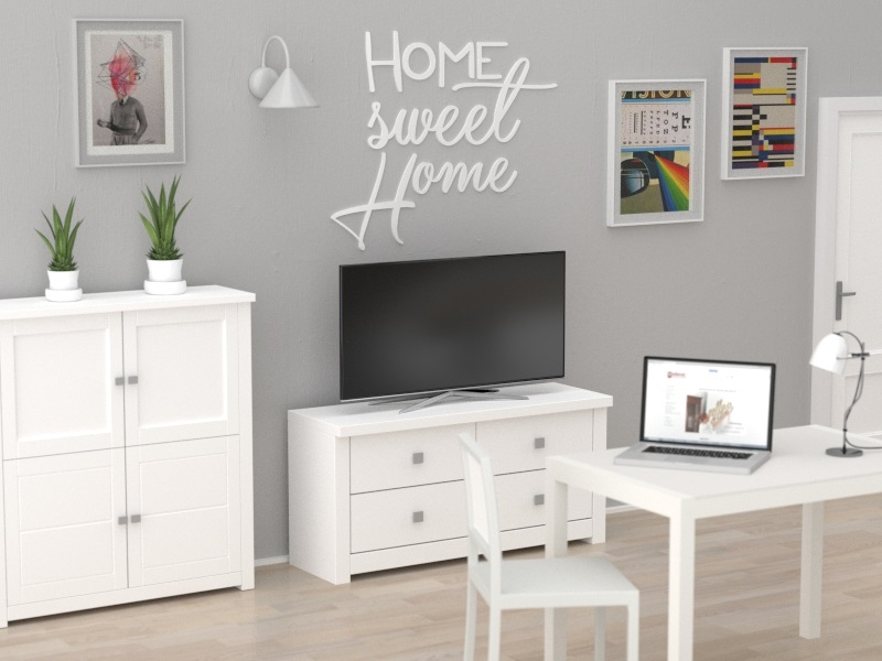 Home Sweet Home Napisy 3d Na ścianę